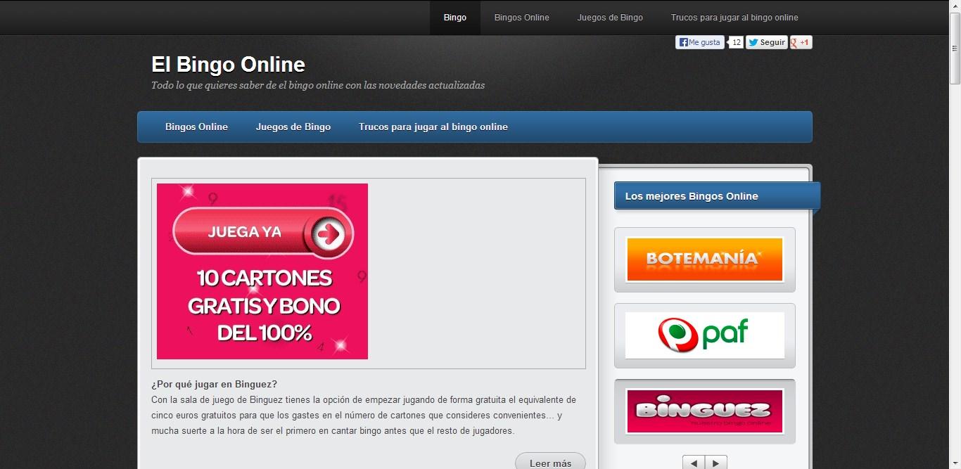 Bingo online gratis senza soldi